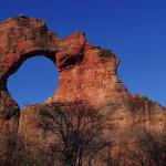 Formação conhecida como Pedra Furada
